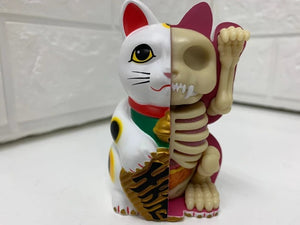 【現貨】4D Master Fortune cat Money bank - White