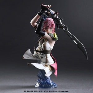 【現貨】Square Enix Static Arts Bust Final Fantasy XIII Lightning PVC Figure