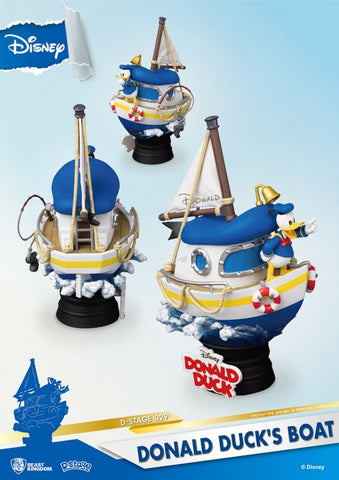 【已截訂】Beast Kingdom D-Stage Donald Duck's Boat PVC Figure