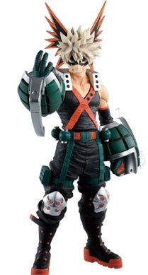 【預訂日期至19-Aug-19】Banpresto ICHIBAN KATSUKI BAKUGO (FIGHTING HEROES feat. One's Justice) PVC Figure