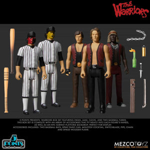 【預訂日期至17-Nov-20】Mezco Toyz 5 Points The Warriors Box Set Action Figure