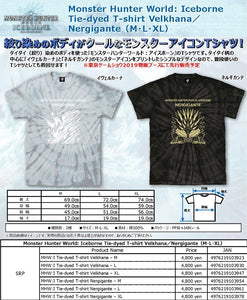【已截訂】Capcom Monster Hunter World: Iceborne T-shirt Nergigante Ivelkhana