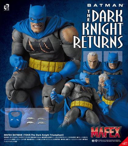【預訂日期至16-Feb-20】MEDICOM TOY MAFEX BATMAN(TDKRThe Dark Knight Triumphant) Action Figure