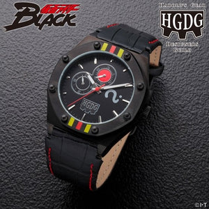 【已截訂】Bandai HAROLD'S GEAR DG KAMEN RIDER BLACK 30 ANNIVERSARY MEMORIAL WATCH BLACK MODEL