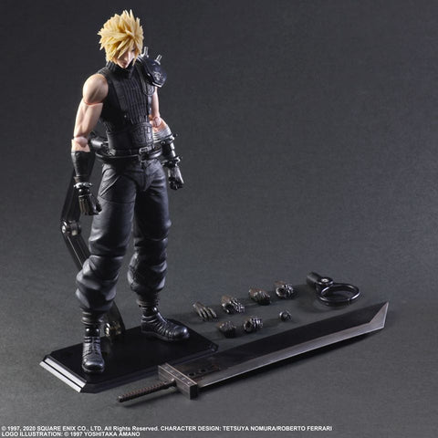 【已截訂】Square Enix FINAL FANTASY Square Enix Final Fantasy VII Remake Play Arts Kai Cloud Strife Ver.2 Action Figure