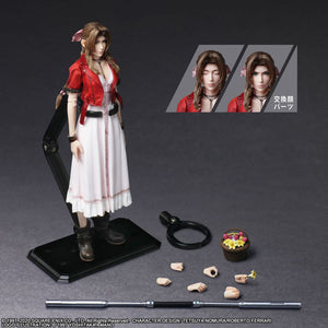 【已截訂】Square Enix FINAL FANTASY Square Enix Final Fantasy VII Remake Play Arts Kai Aerith Gainsborough Action Figure