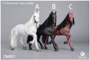 【已截訂】Heng Toys 1/12 Ratio Ancient War Horse Running Posture PVC Figure