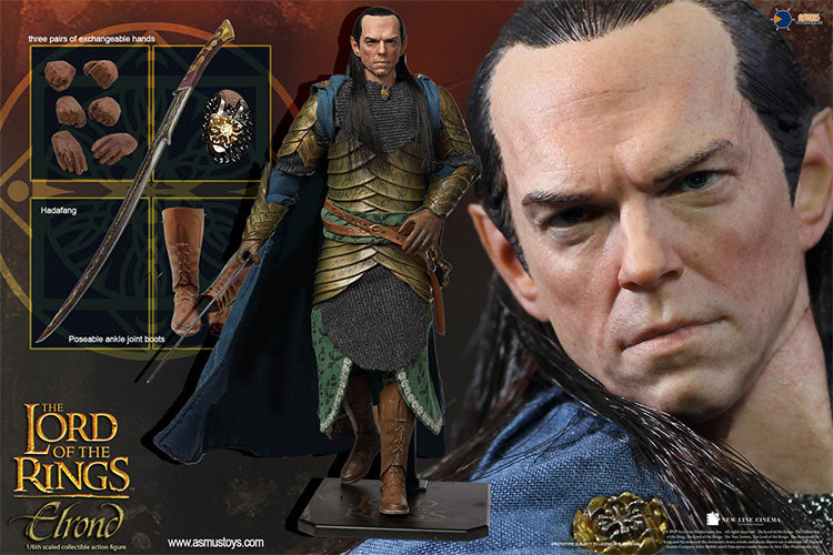 【已截訂】ASMUS TOYS THE LORD OF THE RING SERIES ELROND 1/6 Action Figure