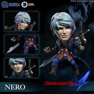 【已截訂】ASMUS TOYS QBITZ DEVIL MAY CRY SERIES NERO 4 LIMITED PVC Figure