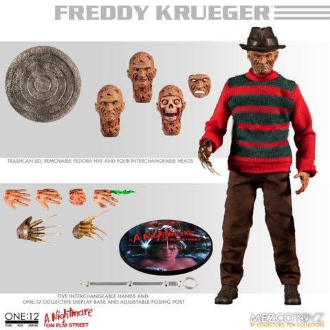 【已截訂】Mezco Toyz A Nightmare on Elm Street Freddy Krueger 1/12 Action Figure