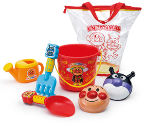 【預訂】Pinocchio Anpanman Colorful Takeout Sandbox Set