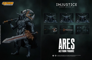【預訂日期至26-Jan-21】Storm Collectibles Ares - Injustice Action Figure