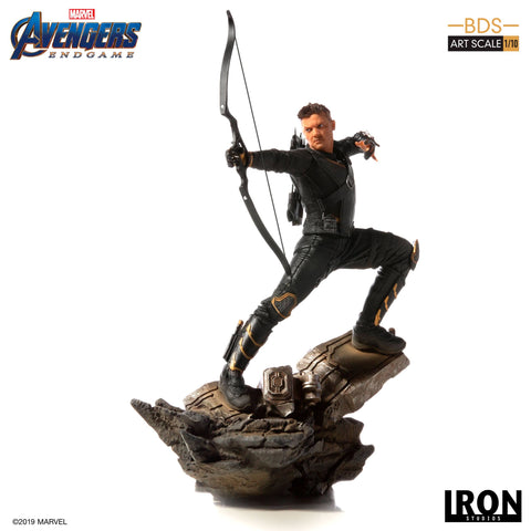【預訂日期至22-May-19】Iron Studios Avengers Endgame Hawkeye BDS Art Scale 1/10 Resin Statue
