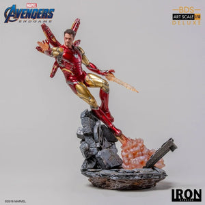 Avengers Engame - Iron Man Mark LXXXV Deluxe BDS Art Scale 1/10 Resin Statue | 復仇者聯盟 雕像 | Iron Studios【現貨】