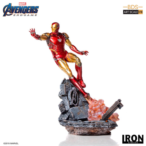 【預訂日期至10-Jun-19】Iron Studios Avengers Engame - Iron Man Mark LXXXV BDS Art Scale 1/10 Resin Statue