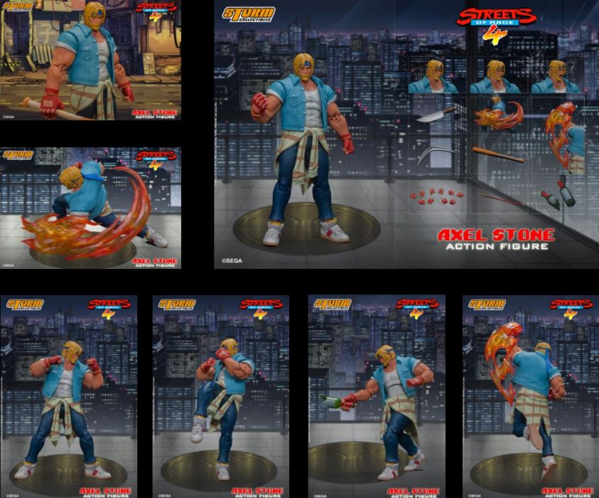 Axel Stone - Street of Rage 4 | Action Figure | Storm Collectibles【現貨】