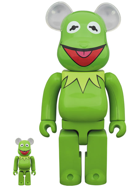 【已截訂】MEDICOM TOY BE@RBRICK Kermit the Frog 100%&400% set