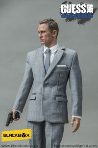 【已截訂】BLACKBOXTOYS 007 SPECTRE   BB9002B Gray suit 1/6 Action Figure