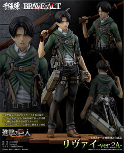 【已截訂】Sentinel BRAVE-ACT Attack on Titan 1/8 Levi -Ver. 2A- PVC Figure