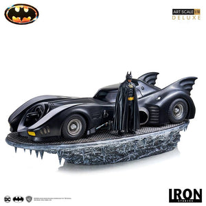 【已截訂】Iron Studios Batman (1989) Botman & Batmobile Deluxe Art Scale 1/10 Resin Statue