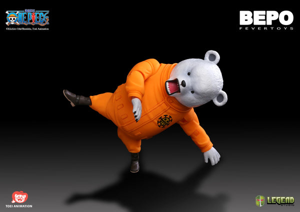 【售完】Legend Studio Fever Toy One Piece Bepo Action Figure