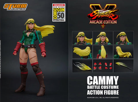 【現貨】Storm Collectibles CAMMY - BATTLE COSTUME SFV Action Figure [SDCC限定版]