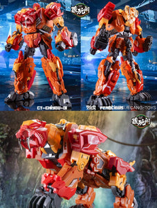 【已截訂】CANG-TOYS Chiyou-01 Fierce Tiger Action Figure