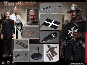 【預訂日期至05-Oct-19】COOMODEL SE057 1-6 SERIES OF EMPIRES (DIE-CAST ALLOY) - SERGEANT OF KNIGHTS HOSPITALLER 1/6 Action Figure