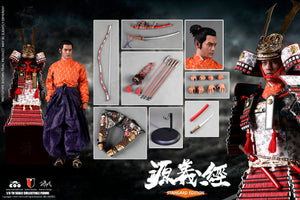 【已截訂】COOMODEL SE061 16 SERIES OF EMPIRES (DIECAST ALLOY) - MINAMOTO NO YOSHITSUNE  (STANDARD VERSION) 1/6 Action Figure
