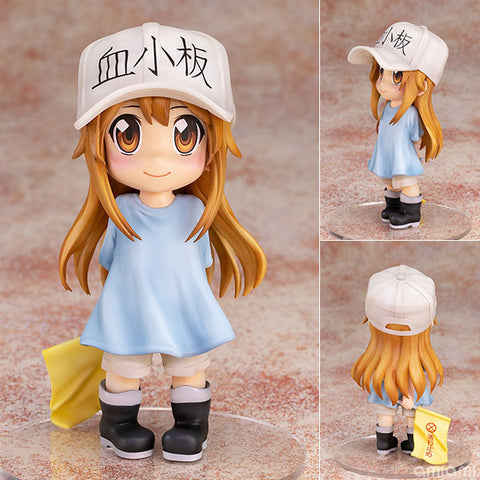 【已截訂】PULCHRA Cells at Work! Deformation Series Rurumeku Platelet PVC Figure