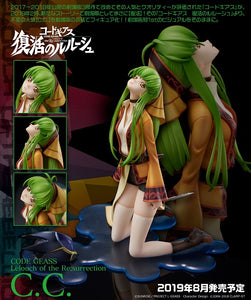 【已截訂】Union Creative Code Geass Lelouch of the Re surrection C.C. PVC Figure