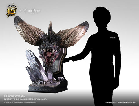 【預訂日期至16-Apr-20】CoolProps  X  CAPCOM Monster hunter dragon head 1/6 statue
