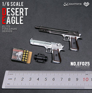 【預訂日期至10-Oct-20】DAMTOYS  EF025  1/6   DESERT EAGLE SET