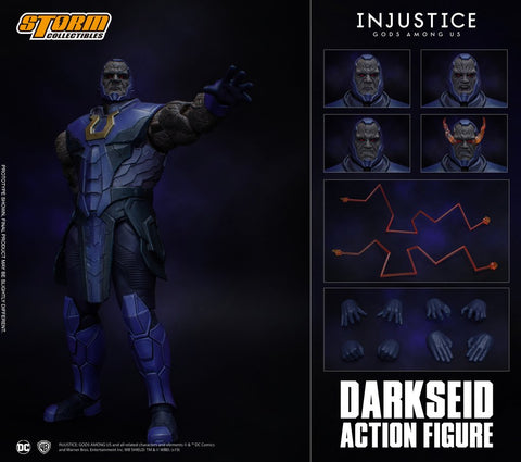 【已截訂】Storm Collectibles DARKSEID - INJUSTICE GODS AMONG US ACTION FIGURE