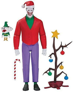 【預訂日期至14-Apr-20】DC~BATMAN THE ANIMATED SET CHRISTMAS WT THE JOKER AF Action Figure