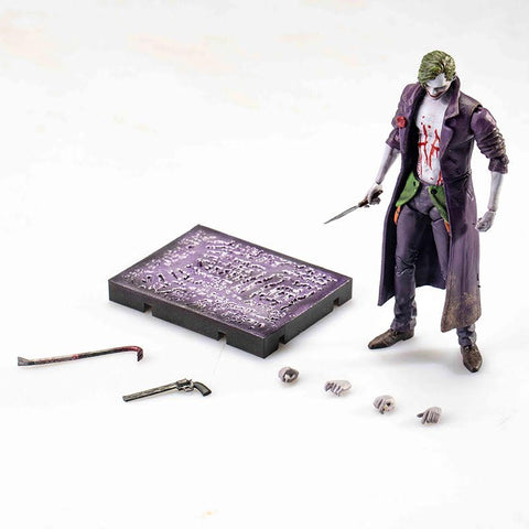 【已截訂】Hiya Toys DC Comics Joker 1/18 Action Figure