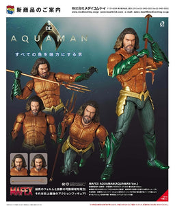 【已截訂】Medicom Toy MAFEX DC Comics Aquaman (Aquaman Ver.) Action Figure