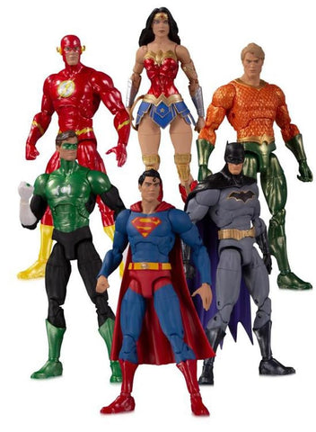 【預訂日期至14-Apr-20】DC~DC ESSENTIALS JUSTICE LEAGUE AF 6 PACK Action Figure