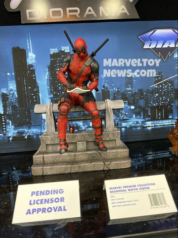 【已截訂】DC~MARVEL PREMIER COLLECTION DEADPOOL MOVIE STATUE Figure