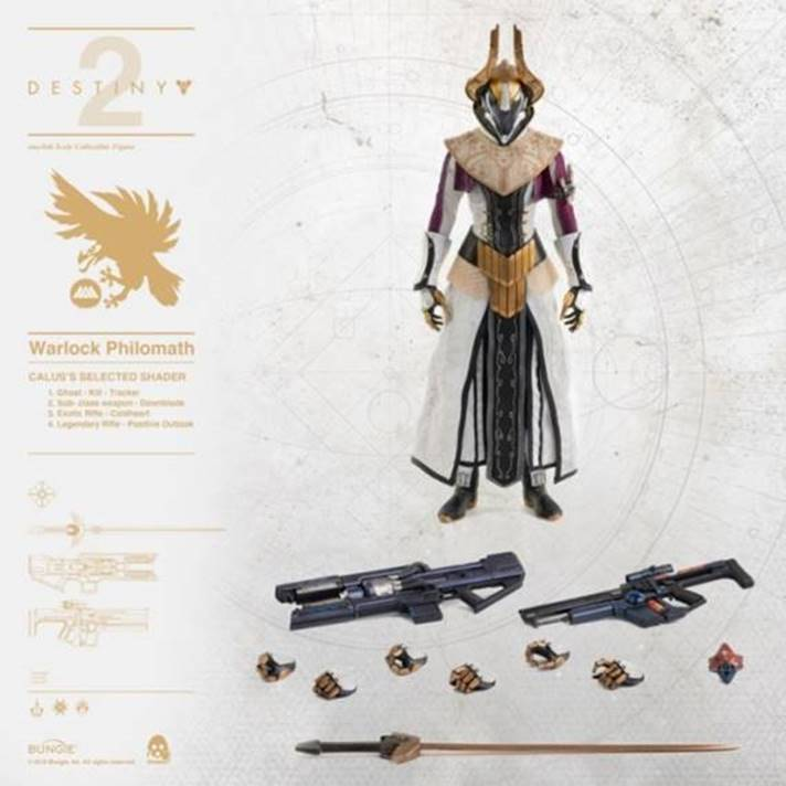 【已截訂】Threezero DESTINY 2 - WARLOCK Philomath  CALUS'S SELECTED SHADER Action Figure