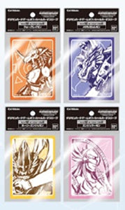 【已截訂】Bandai DIGIMON CARD GAME OFFICIAL SLEEVE (4 KINDS ASSORT)(圖片為舊圖,只供參考)