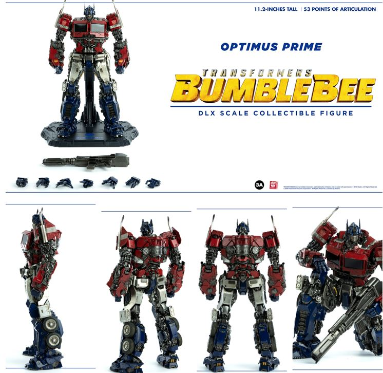 【已截訂】ThreeZero 3A DLX OPTIMUS PRIME Action Figure