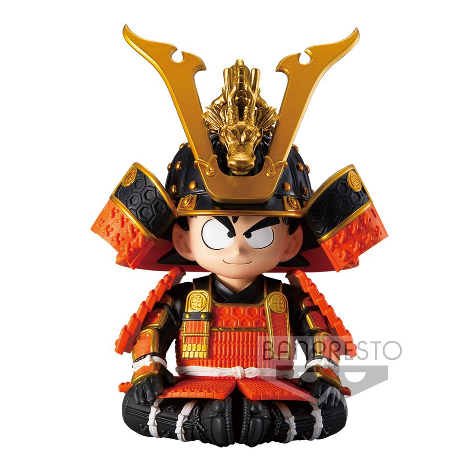 【預訂日期至19-Sep-20】Banpresto DRAGON BALL DRAGON BALL JAPANESE ARMOR & HELMET FIGURE (VER.A) PVC Figure