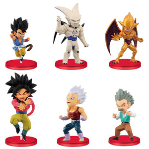 【預訂日期至20-Aug-20】Banpresto DRAGON BALL GT WORLD COLLECTABLE FIGURE VOL.4 PVC Figure(全6種)