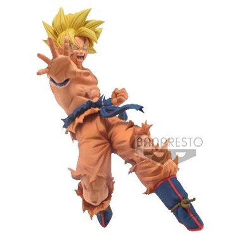 【預訂日期至20-Aug-20】Banpresto DRAGON BALL SUPER DRAWN BY TOYOTARO!!-FATHER-SON KAMEHAMEHA-SON GOKU PVC Figure