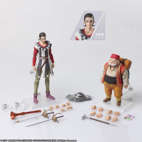 【現貨】Square Enix DRAGON QUEST XI Echoes of an Elusive Age BRING ARTS Sylvando & Rab  Action Figure