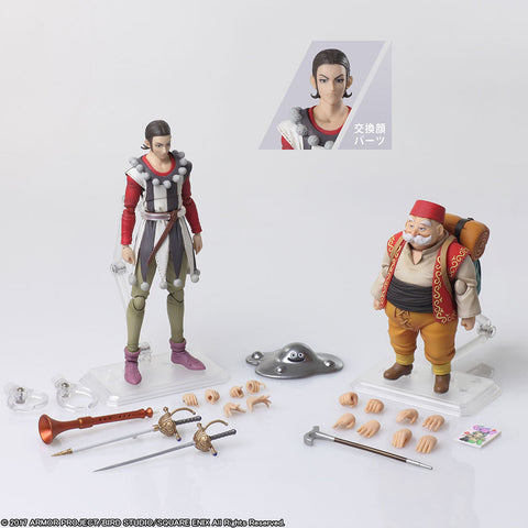 【已截訂】Square Enix DRAGON QUEST XI Echoes of an Elusive Age BRING ARTS Sylvando & Rab  Action Figure
