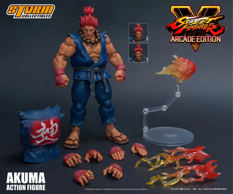 【現貨】Storm Collectibles Street Fighter Arcade Edition Gouki Akuma Nostalgia Costume Action Figure