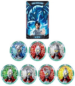 【已截訂】Bandai DX ULTRA ACCESS CARD&MEDAL ULTRAMAN ZERO&6 BROTHERS SET