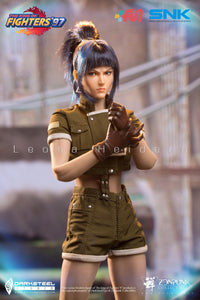 【預訂日期至29-Jun-20】DarkSteel Toys×ZenPunk DSA-001 1/6 THE KING OF FIGHTERS '97 - Leona Collectible Action Figure